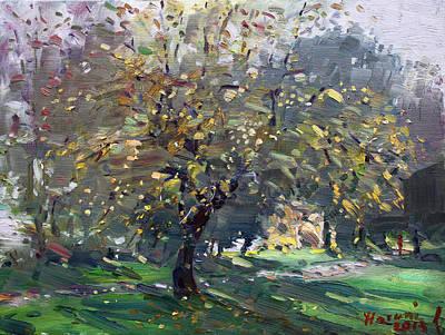 Autumn Landscape Painting - Autumn by Ylli Haruni