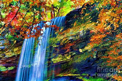 Autumns Calm Print by Darren Fisher