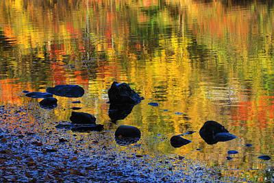 Autumns Rainbow Print by Karol Livote