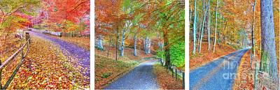 Autumns Way Print by John Kelly