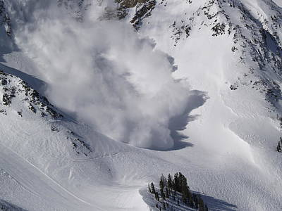 Avalanche Iv Print by Bill Gallagher