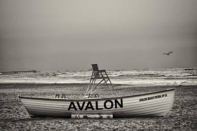 Sunrise Photograph - Avalon In The Morning In Sepia by Bill Cannon