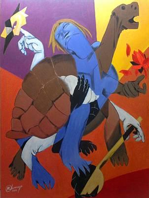 Avatar Series-kurma Print by Chinmaya BR