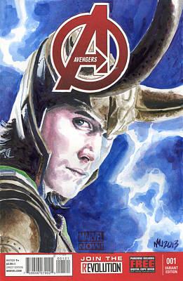 Avengers Loki Original by Ken Meyer jr