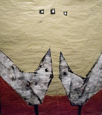 Aves Et Stellas Print by Mark M  Mellon