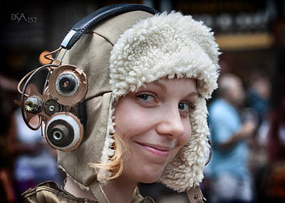 Steampunk Photograph - Aviator IIi by David April