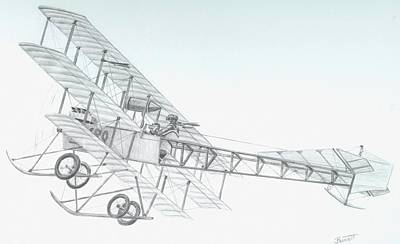 Avro Triplane Original by Rick Bennett