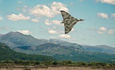 Raf Photograph - Avro Vulcan by Jason Green