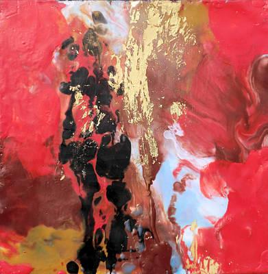 Hot Wax Painting - Awakening by Kathryn Kaye
