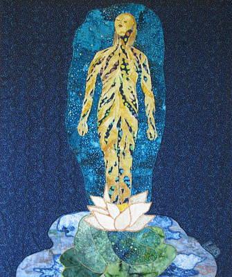 Fantasy Tapestries - Textiles Tapestry - Textile - Awakening by Lynda K Boardman