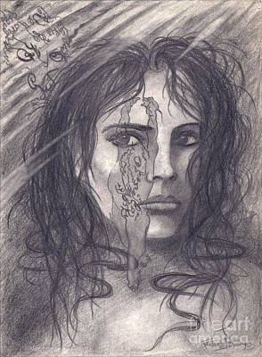Awakening Upon Reflection On Austin Osman Spare Print by Frederick Seaton