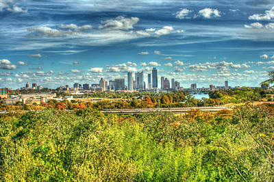 Austin Skyline Photograph - Awesome Austin by Andrew Nourse