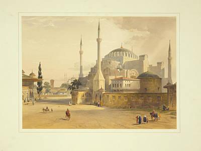Jerusalem Painting - Ayasofya Mosque by Celestial Images