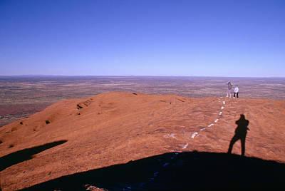E 20 Photograph - Ayers Rock - 1 by Larry Mulvehill