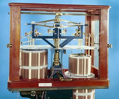 Ayrton-jones Ampere Balance Print by Science Photo Library