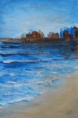 Azure Print by Jane  See