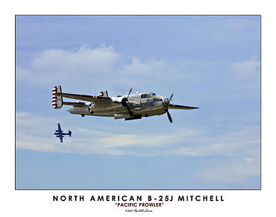 B-25 Mitchell Print by Kendall James