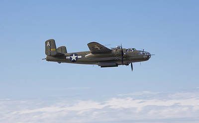 B-25j Print by Ross Murphy