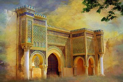 Bab Mansur Print by Catf
