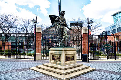 Babe Ruth Digital Art - Babes Dream - Camden Yards by Bill Cannon