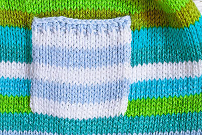 Baby Wool Photograph - Babies' Jumper by Tom Gowanlock