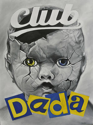 Baby Dada Print by Steve Hunter