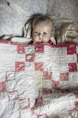 Bed Quilts Photograph - Baby Doll by Margie Hurwich