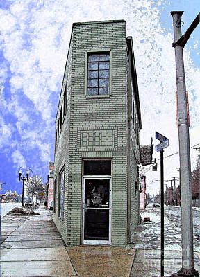 Mj Photograph - Baby Flatiron In River Rouge by MJ Olsen