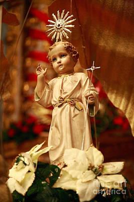 Baby Jesus Print by Gaspar Avila