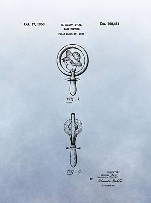 Baby Teether Patent Print by Dan Sproul