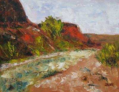 Southern Utah Painting - Babylon by Kathy Stiber
