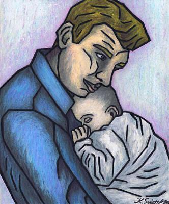 Baby's Lullaby Print by Kamil Swiatek