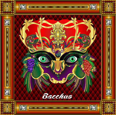 Bacchus V-1 Vector Sample Print by Bill Campitelle