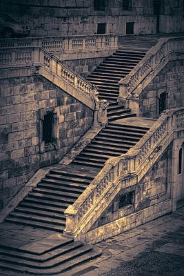 Back Entrance Redux Print by Joan Carroll