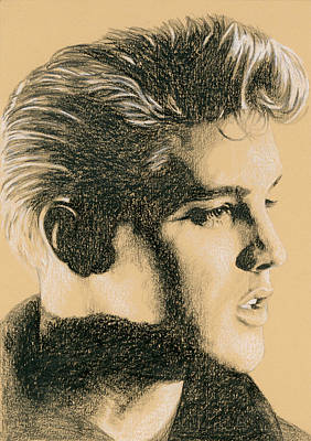 Elvis Presley Drawing - Back In Memphis by Rob De Vries