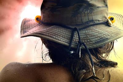 Tassel Digital Art - Back Of A Hat by Lori Seaman