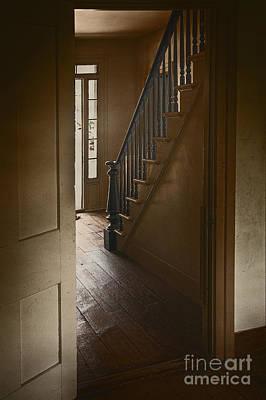 Back Stairway Print by Margie Hurwich