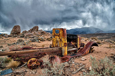 Mining Photograph - Back To The Earth by Cat Connor