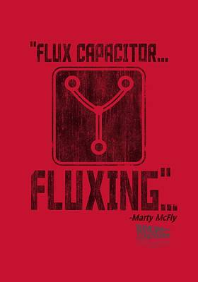Fox Digital Art - Back To The Future - Fluxing by Brand A