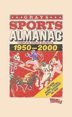 Fox Digital Art - Back To The Future II - Sports Almanac by Brand A
