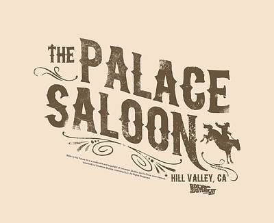 Fox Digital Art - Back To The Future IIi - Palace Saloon by Brand A