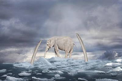 Ice Age Digital Art - Back To The Ice Age by Angel Jesus De la Fuente