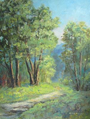 Normal Painting - Back Woods by Norma Brown