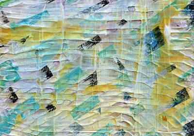 Backbeat Print by Regina Valluzzi