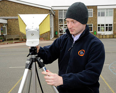 Monitoring Photograph - Background Radiation Monitoring by Public Health England