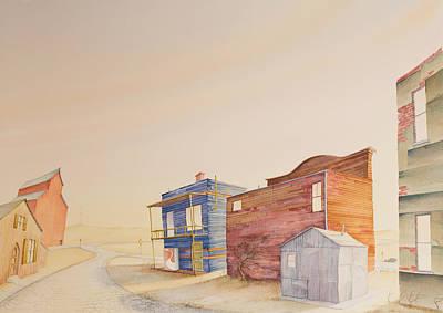 Backstreet Nebraska Print by Scott Kirby