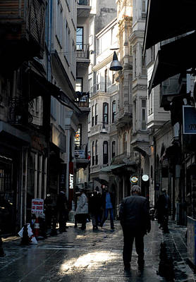 Istanbul Photograph - Backstreets  by Paul Sutcliffe