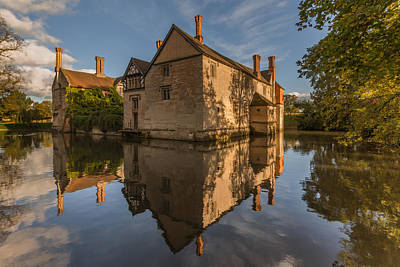 Moat Photograph - Baddesley Clinton by Chris Fletcher