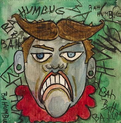 Bahhumbug Tillie Original by Patricia Arroyo
