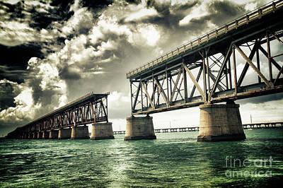 Bahia Honda Bridge Print by Scott Bert